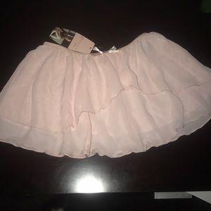 Girls pink ballet skirt NWT Size 10/12